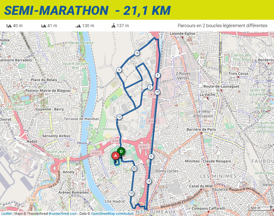 semi-marathon 2020